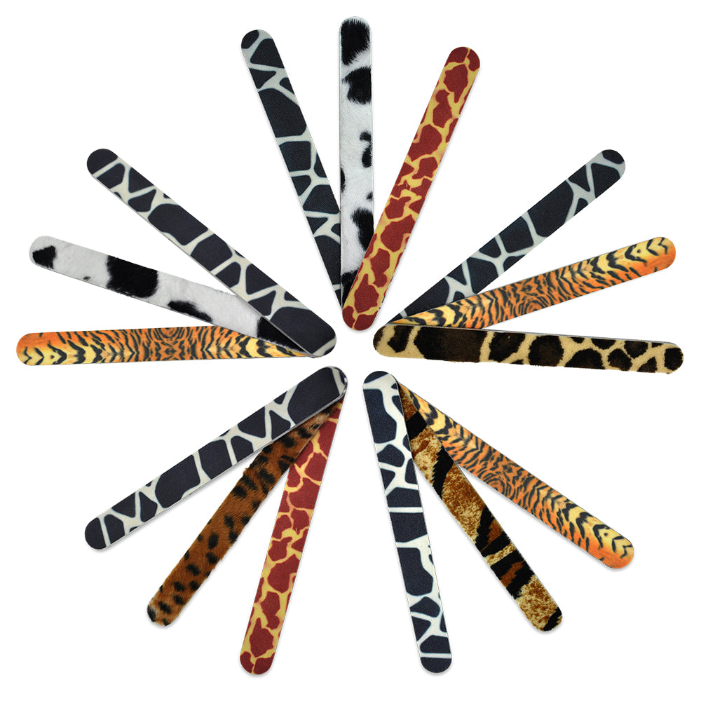 Animal Buff / Grit Nail Files - Ideal for Single Use.