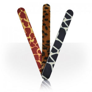 Roo Animal Print Nail Files Set of 3 Cheetah