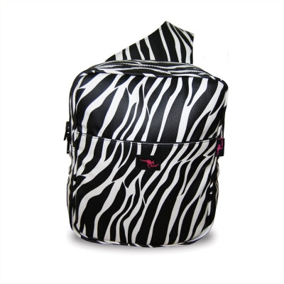 Roo Zebra Hairdressers Session Bag