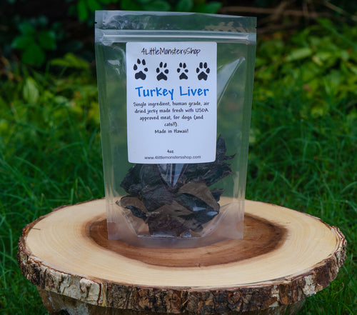 Turkey Liver Jerky Treats