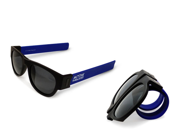 Active Sunglasses - Blue - Dark