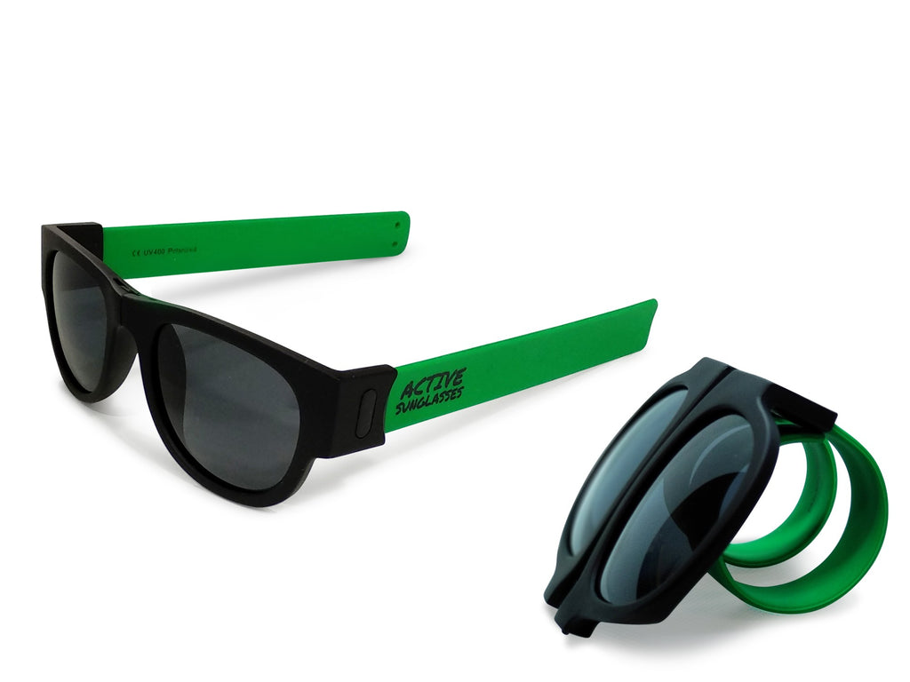 Active Sunglasses - Green - Dark