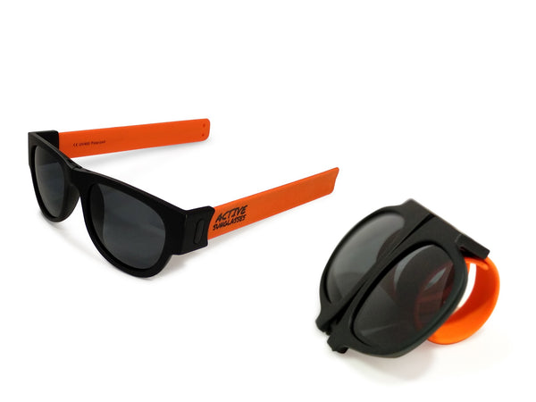 Active Sunglasses - Orange - Dark