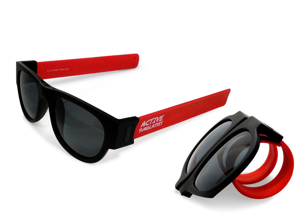 Active Sunglasses - Red - Dark