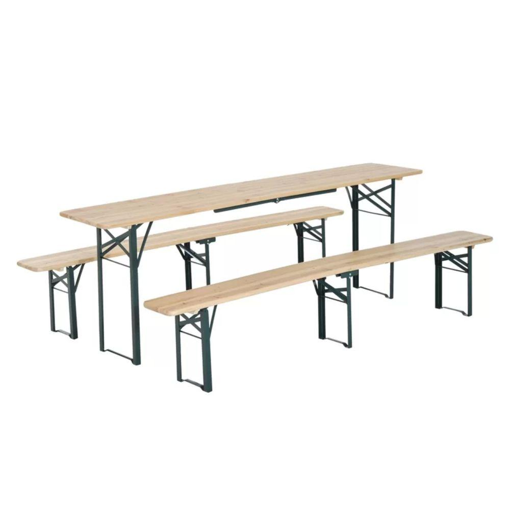 - Schaefer Folding Solid Wood Picnic Table – TopPicnictables