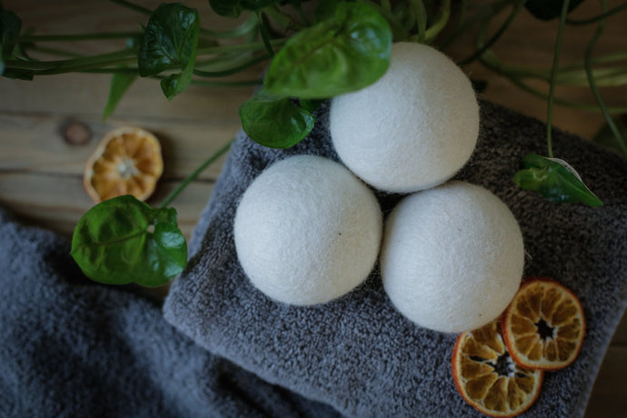 KELIGREEN WOOL DRYER BALLS (SET OF 3)