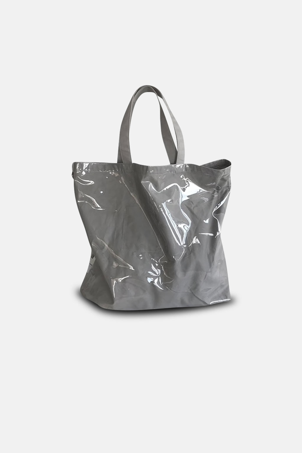 CLEAR GREY TOTE BAG