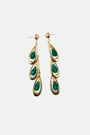 DROPS OF TURQUOISE EARRINGS