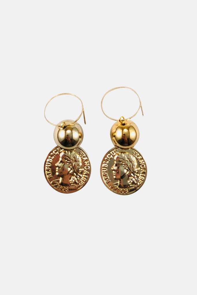 Golden Mood Drop Earrings - Fashion Jewelry For Sale | Mehmory