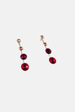 RED GATES DROP EARRINGS