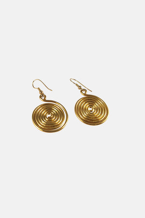 Glistening Disc Drop Earrings - Fashion Jewelry For Sale | Mehmory