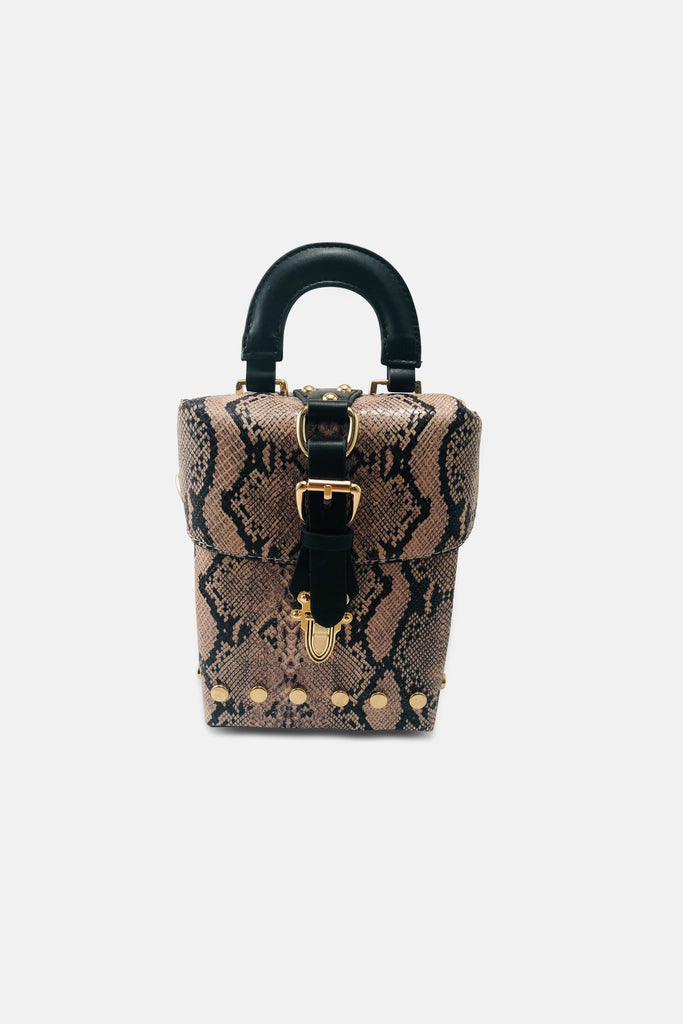Lost Python Skin Handbag - Fashion Bags For Sale | Mehmory