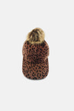 TIGER CAP WITH MINI FAUX FUR - Ladies Caps & Hats | Mehmory