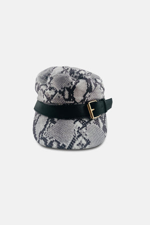 HUMBLE SNAKE PRINT SAILOR CAP