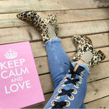 CHECK MY SPOTS ANKLE BOOTS