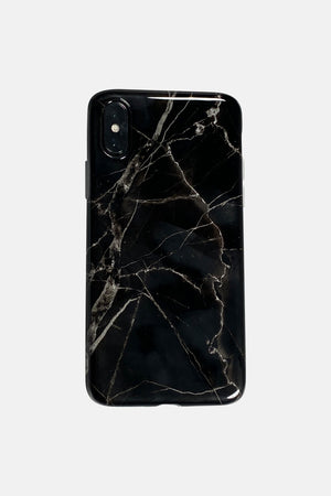 BLACK MARMER EFFECT IPHONE CASE
