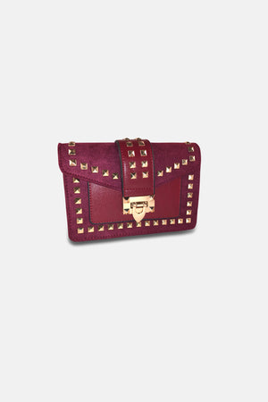 VALENTINA STUDDED CROSSBODY BAG