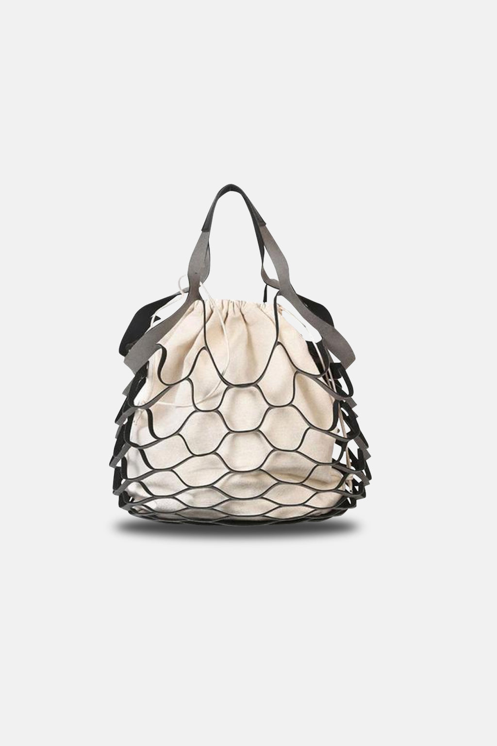 FISHNET BAG WITH INNER POUCH
