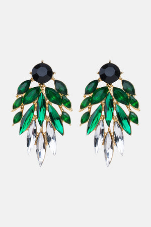 GREEN CHIQ EARRINGS