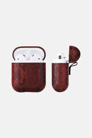 EARBUDS CASE RED SNAKE