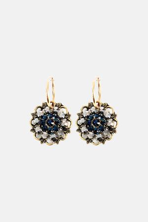 GLAMOROUS FLOWER EARRINGS