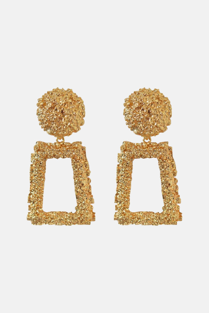 Dangle Gold Earrings