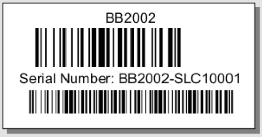 Part Barcodes With Tracking - One Off