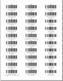 Product Barcodes by Location - Avery