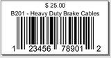 Product UPC Barcodes By Sales Order - One Off