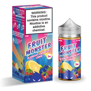 Fruit Monster Blueberry Raspberry Lemon 100ml Vape Juice