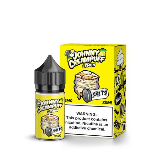 Johnny Creampuff Salts Lemon 30ml Nic Salt Vape Juice