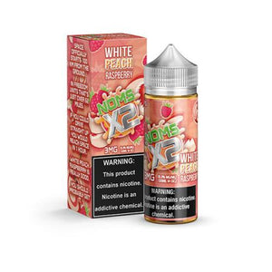 NOMS X2 White Peach Raspberry 120ml Vape Juice