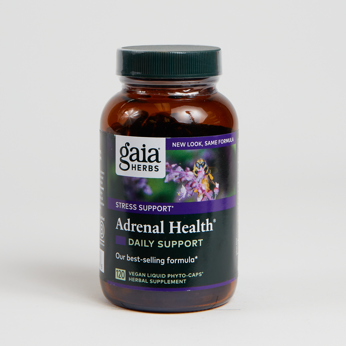 Gaia Herbs Adrenal Health Nightly Restore - 60 Count