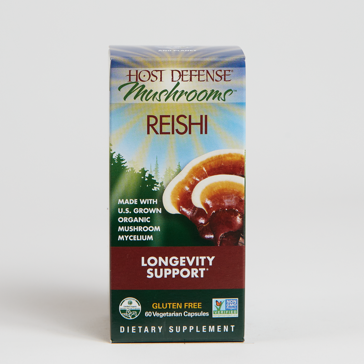 Host Defense Reishi - 60 Count