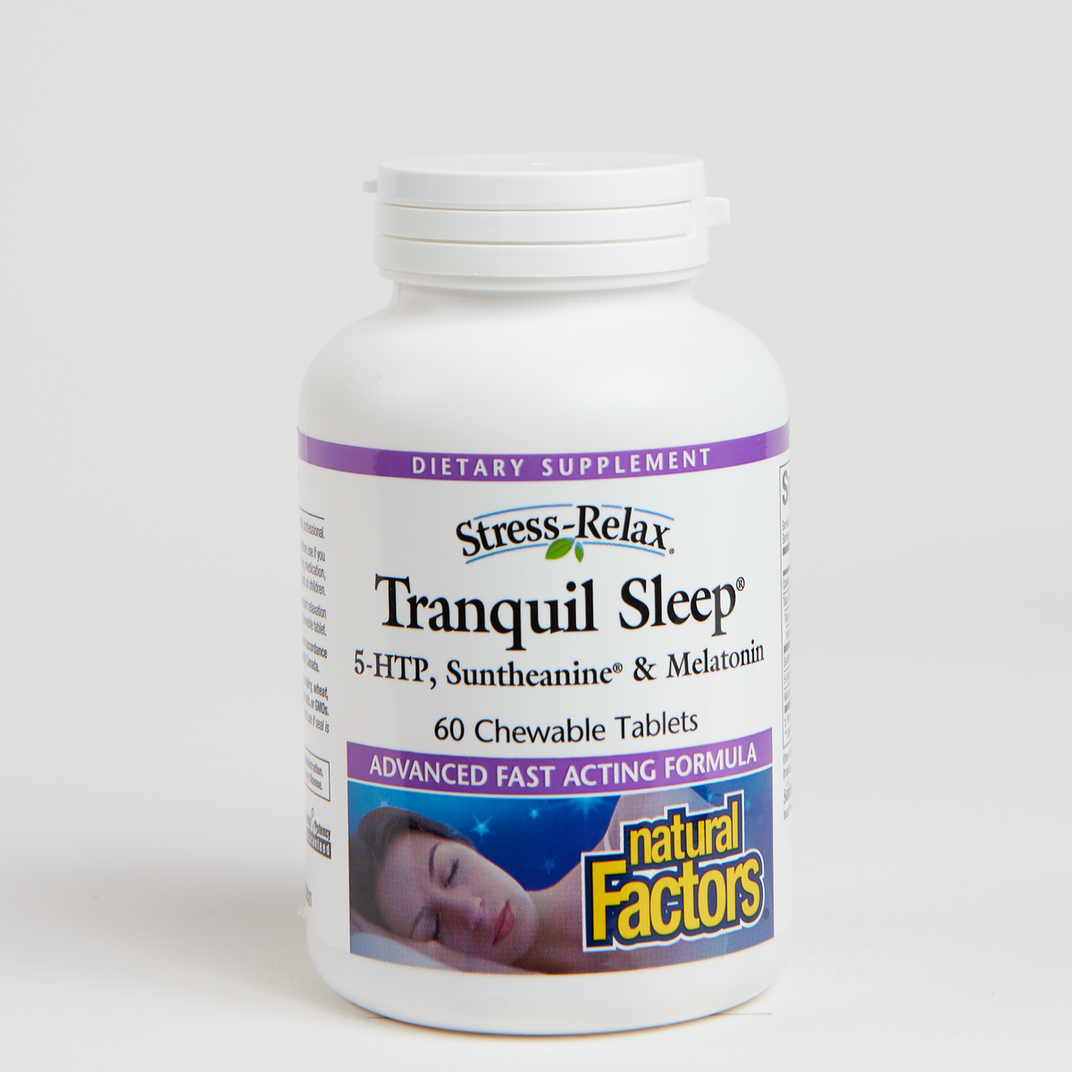 Natural Factors Tranquil Sleep Chewable Stress - Relief - 60 Count