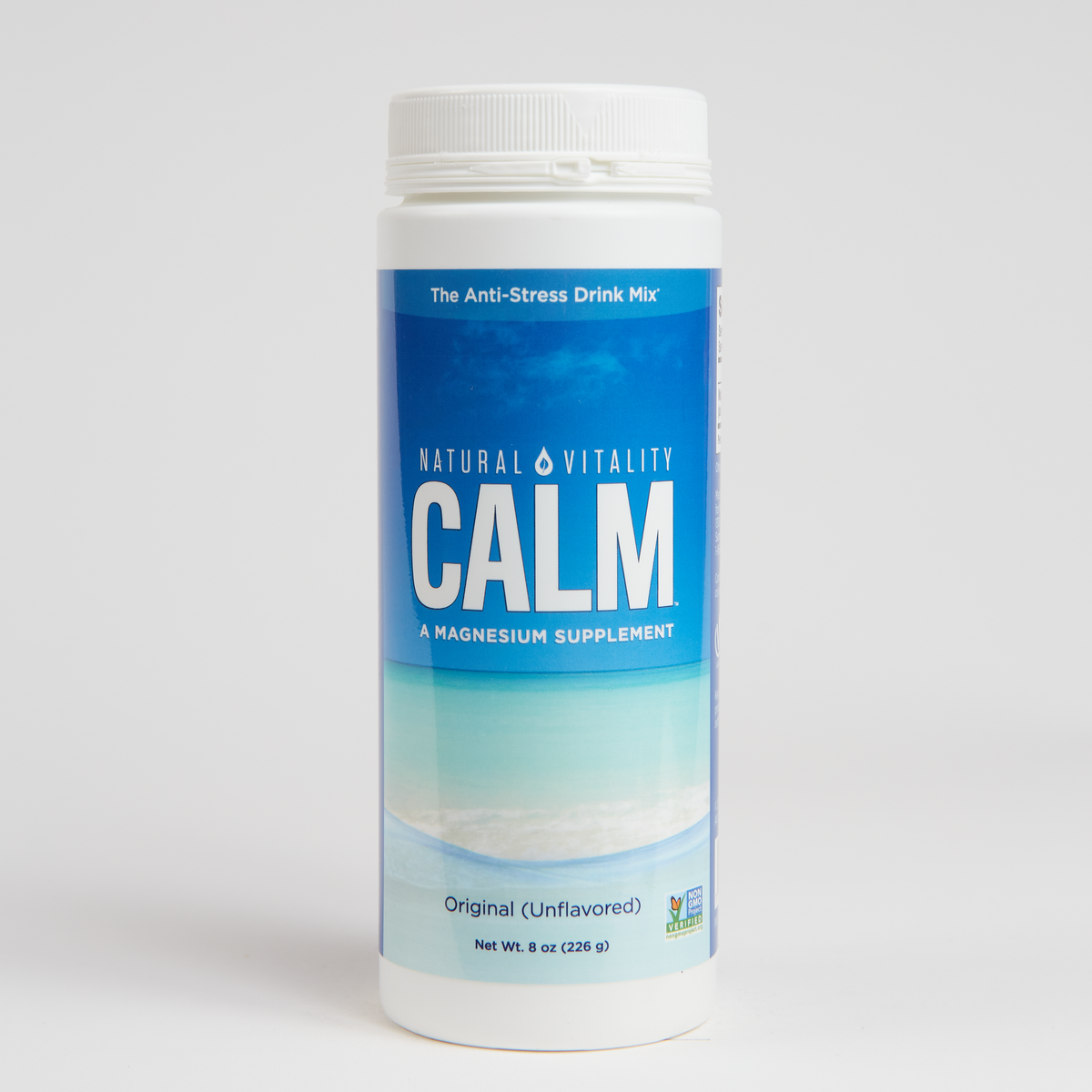 Natural Vitality Natural Calm - Unflavored - 8 Oz