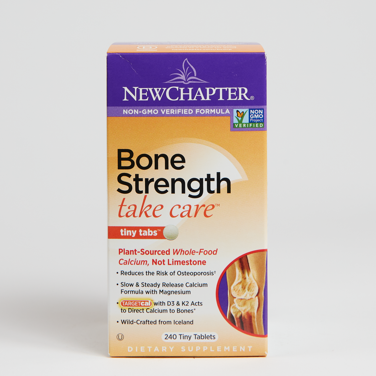 New Chapter Bone Strength Take Care Tiny Count - 240 Count