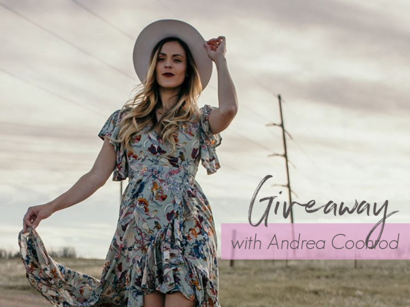 GIVEAWAY with Andrea Coonrod