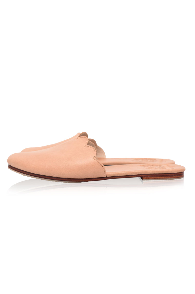Sahara Leather Slide Shoes (Sale)