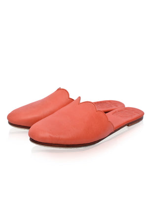 Sahara Leather Slide Shoes