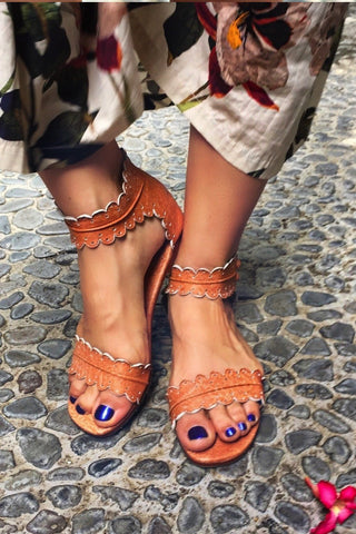 Blooming Day Strappy Sandals