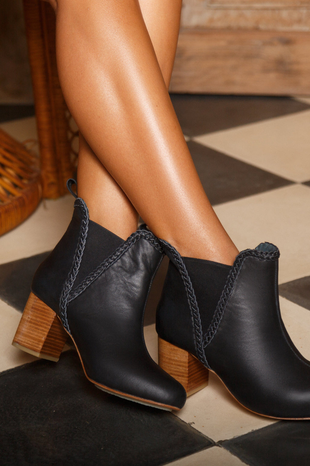El Paso Leather Boots
