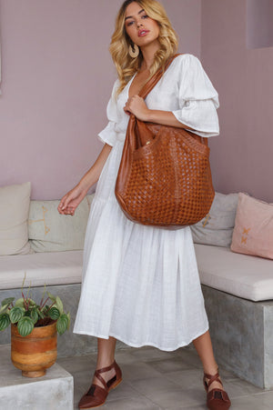 French Lover Oversized Hobo Bag