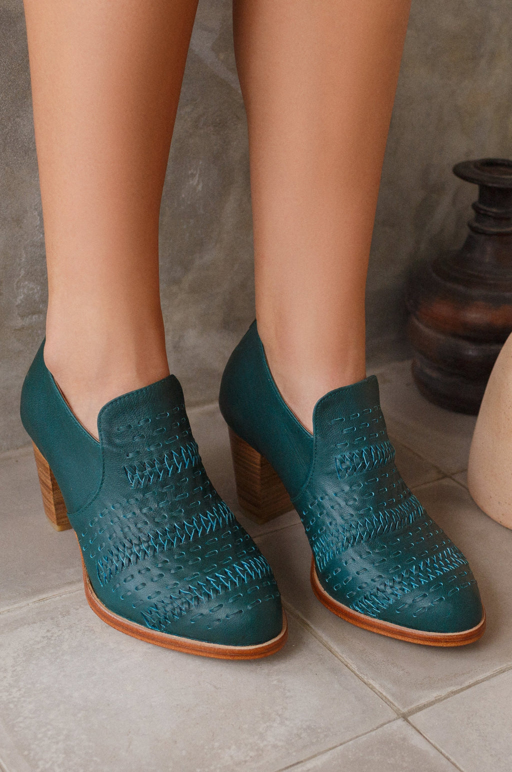 Wind Chaser Heel Booties