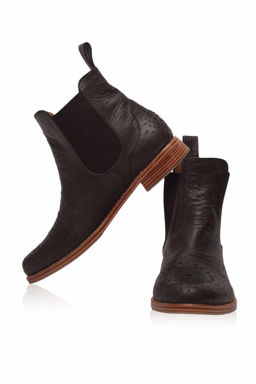Eclipse Leather Chelsea Boot