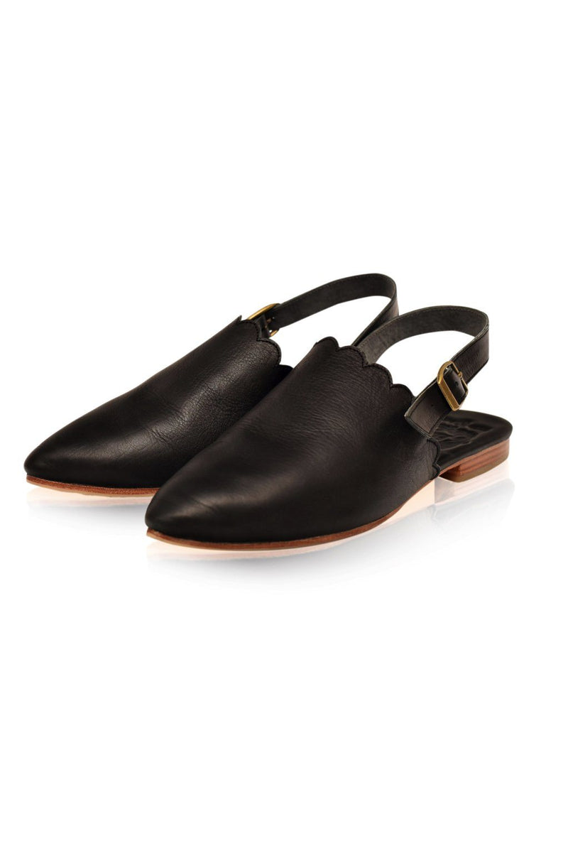Leather Shoes - Caribbean Slip-on Mules