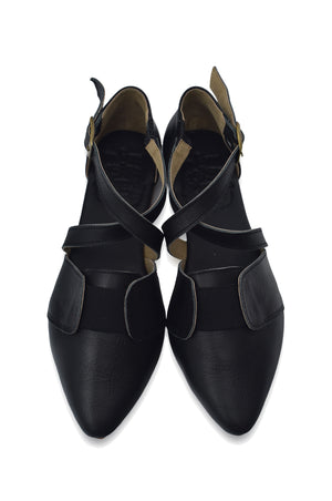 Italiana Pointy Toe Flats
