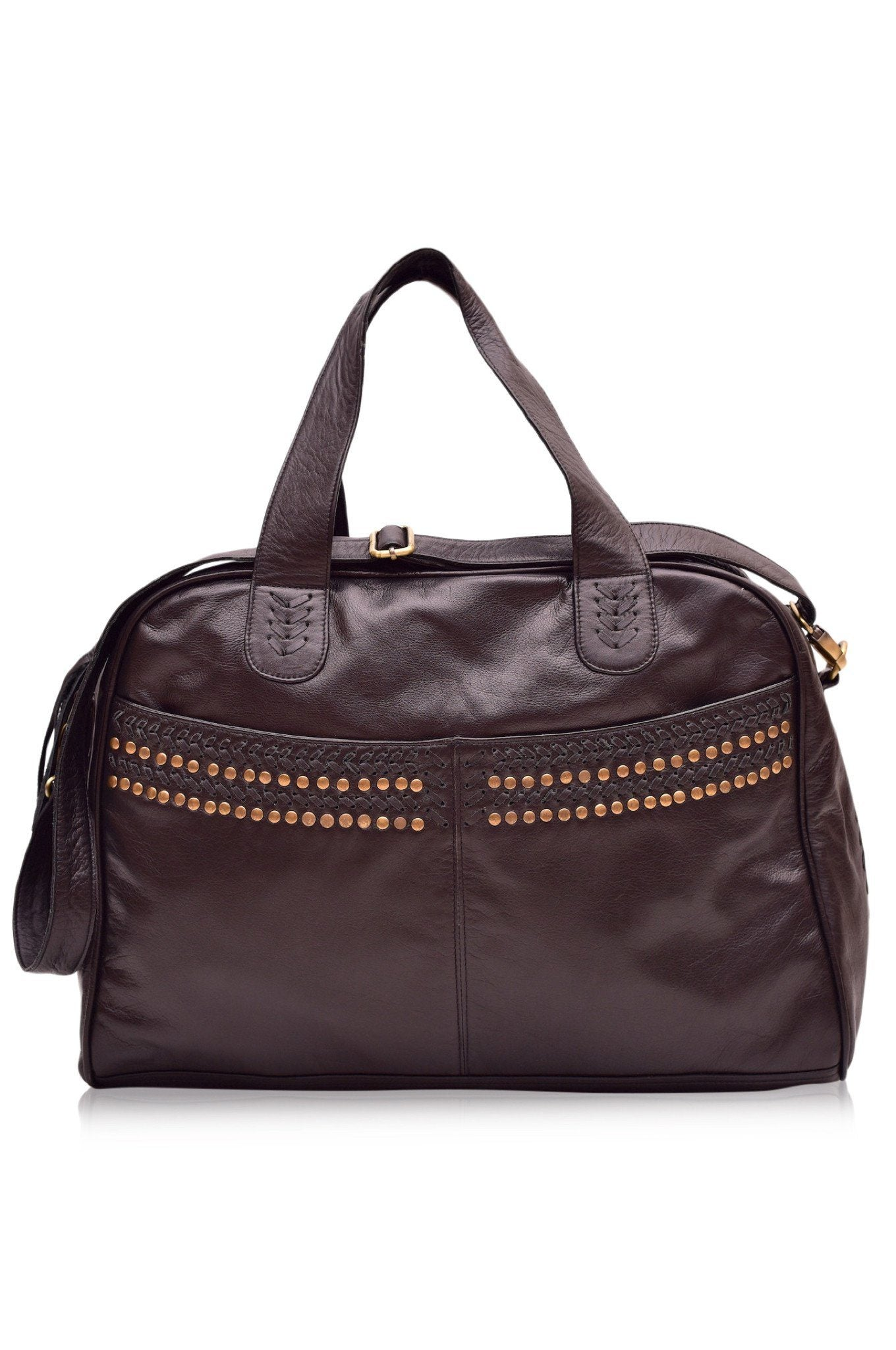 Wild Escape Leather Travel Bag