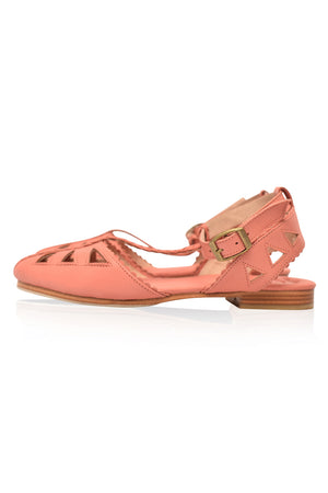 bb8d99f90d Bounty T-strap Leather Sandals | BaliELF