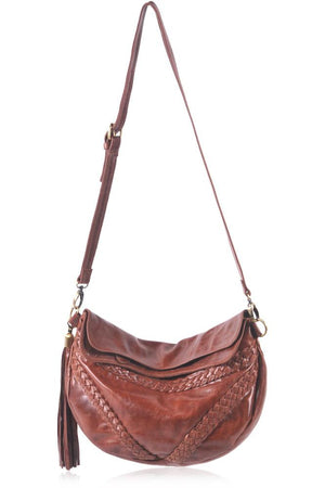 Leather Bag - Triángulo Crossbody